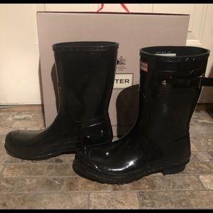 Black Brand New Hunter Boots!